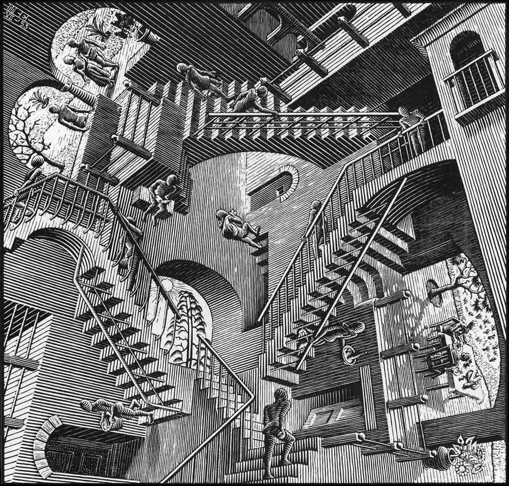 Relativity (M. C. Escher) - Wikipedia