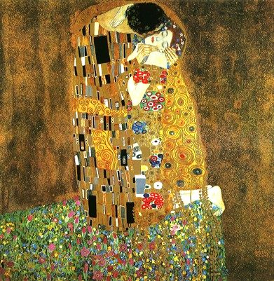 klimt wallpaper. 391, 401, Klimt Kiss