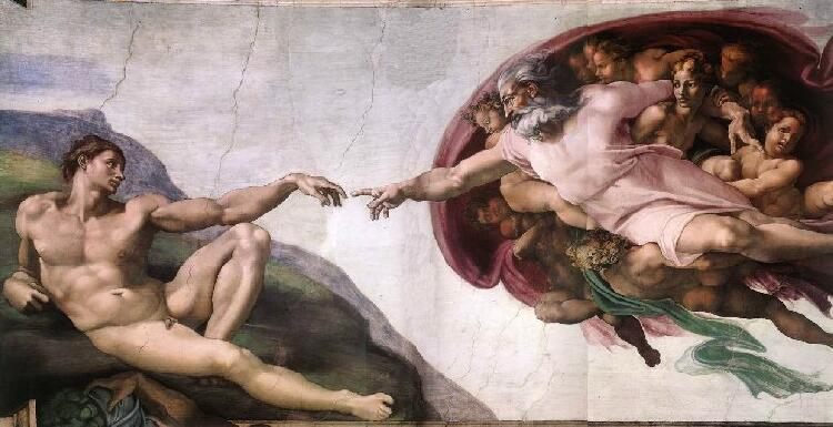 """ Creation of Adam "" 
